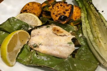Grilled Lane Snapper